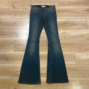 Free People Kick Flare Denim Jeans Womens Size 26